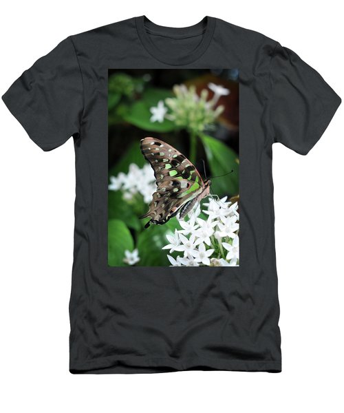 Men's T-Shirt (Athletic Fit) featuring the photograph Nicely by Michelle Wermuth