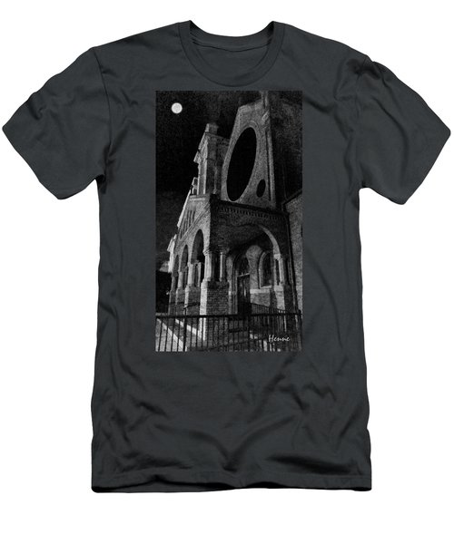 Night Church Men's T-Shirt (Athletic Fit)