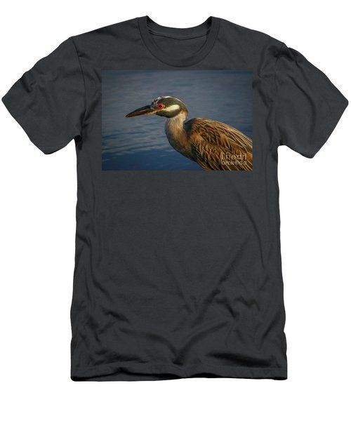 Night Heron Portrait Men's T-Shirt (Athletic Fit)