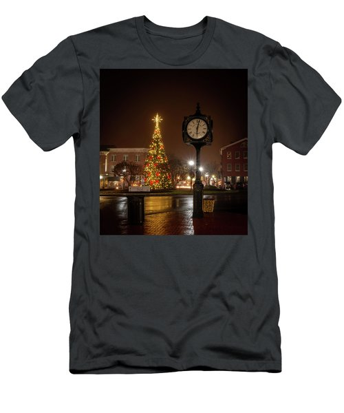 Night On The Square Men's T-Shirt (Athletic Fit)
