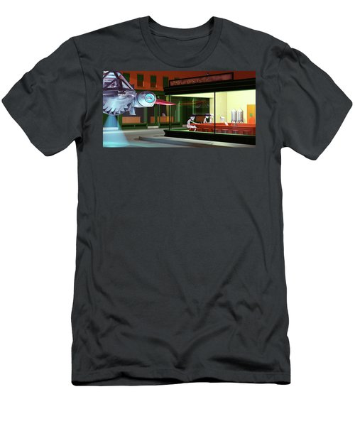 Nighthawks Invasion Men's T-Shirt (Athletic Fit)