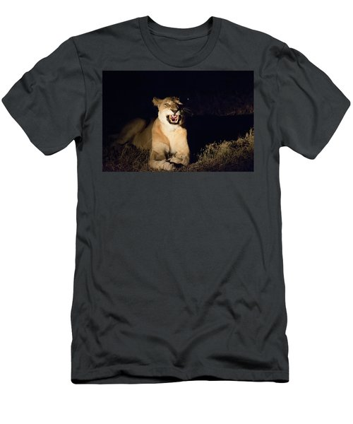 Nightmare Lioness Men's T-Shirt (Athletic Fit)