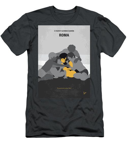 No1035 My Roma Minimal Movie Poster Men's T-Shirt (Athletic Fit)