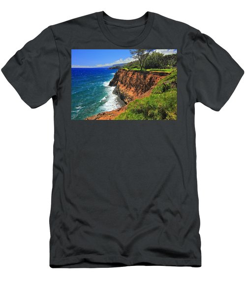 North Hawaii View Men's T-Shirt (Athletic Fit)