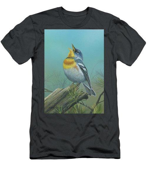 Northern Parula  Men's T-Shirt (Athletic Fit)