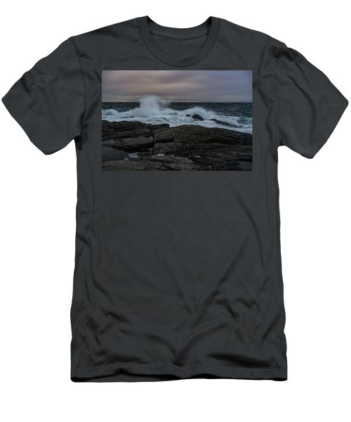Norwegian Wild Waters Men's T-Shirt (Athletic Fit)