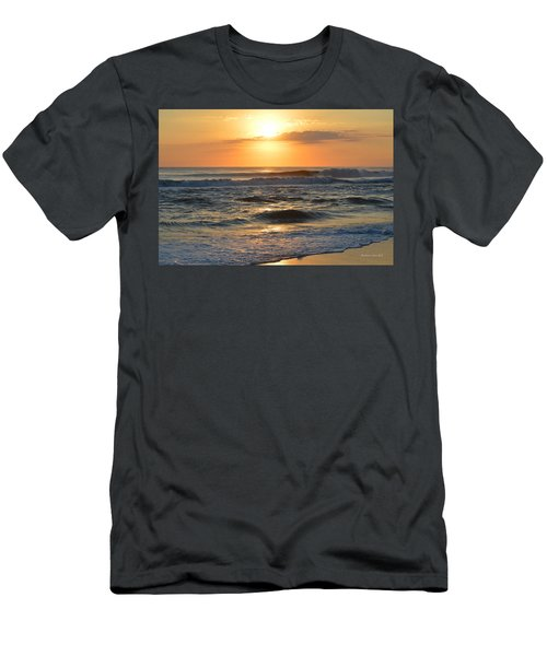 Men's T-Shirt (Athletic Fit) featuring the photograph November 3, 2018 Sunrise by Barbara Ann Bell