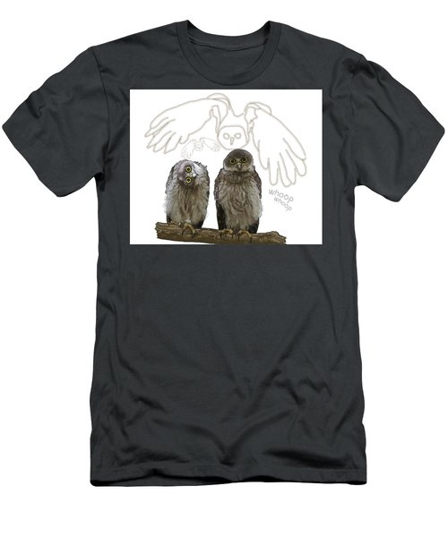 O Is For Owl Men's T-Shirt (Athletic Fit)