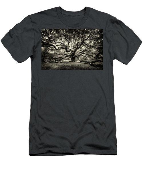 Oak Of The Angels - Sepia Men's T-Shirt (Athletic Fit)
