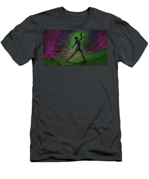 Obscured Dance Men's T-Shirt (Athletic Fit)