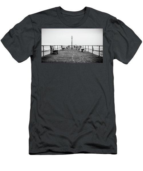 Ocean Grove Pier 1 Men's T-Shirt (Athletic Fit)