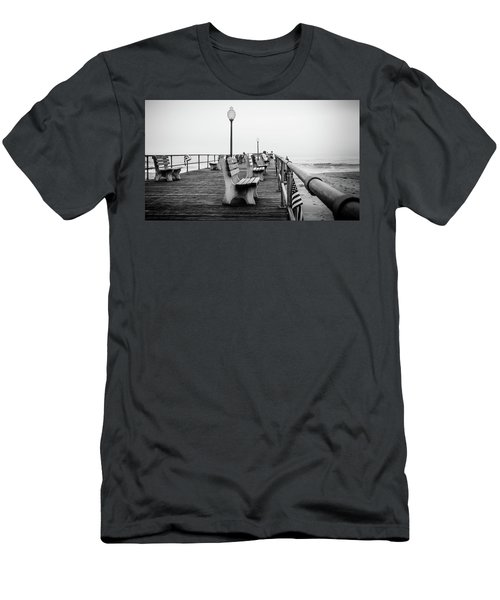 Ocean Grove Pier 2 Men's T-Shirt (Athletic Fit)