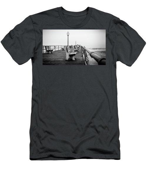 Ocean Grove Pier 2 Men's T-Shirt (Athletic Fit)