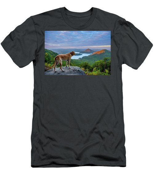 Men's T-Shirt (Athletic Fit) featuring the photograph Ocoee Sunrise by Matthew Irvin