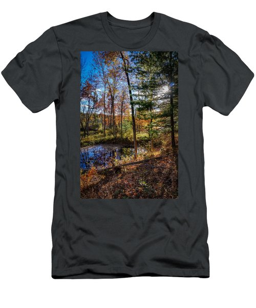 October Late Afternoon Men's T-Shirt (Athletic Fit)