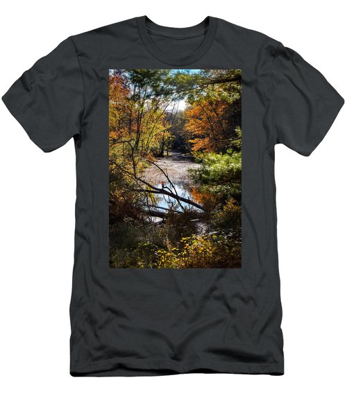 October Window Men's T-Shirt (Athletic Fit)