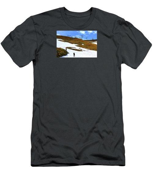 Off Season Skifield Men's T-Shirt (Athletic Fit)