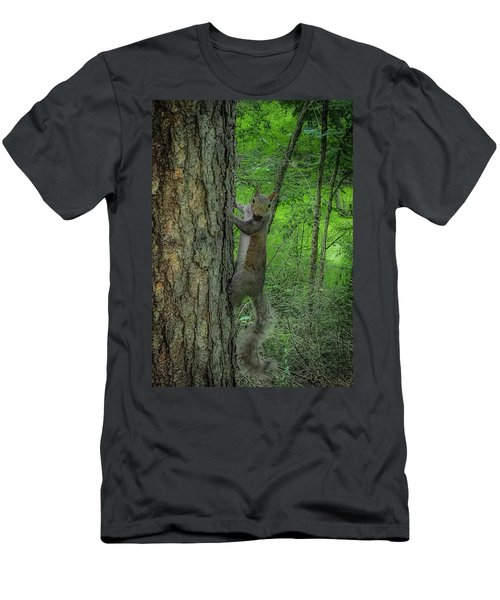 Men's T-Shirt (Athletic Fit) featuring the photograph Oh Hi by Lora J Wilson