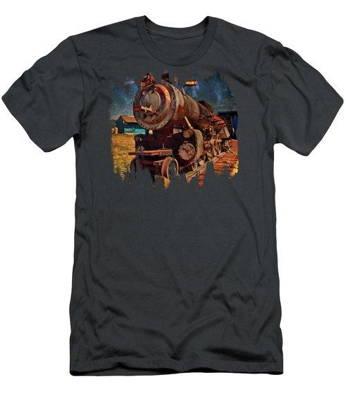 Old 44 Locomotive Men's T-Shirt (Athletic Fit)