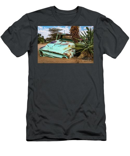 Old And Abandoned Car 2 In Solitaire, Namibia Men's T-Shirt (Athletic Fit)
