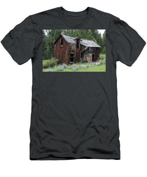 Old Cabin - Elkhorn, Mt Men's T-Shirt (Athletic Fit)