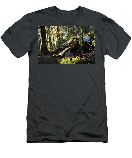 Old Cars Men's T-Shirt (Athletic Fit)