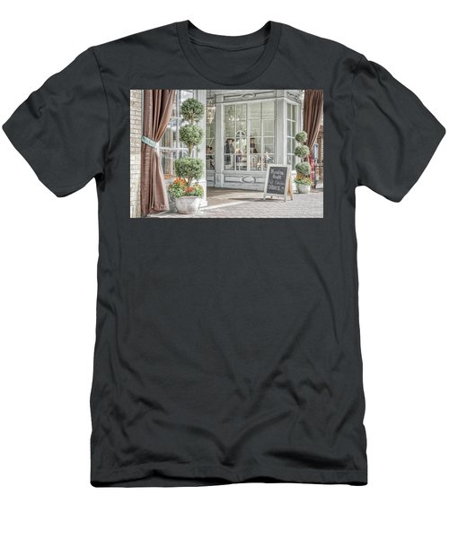 Men's T-Shirt (Athletic Fit) featuring the photograph Old Days by Joe Paul