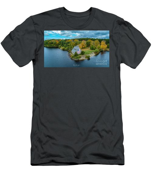 Men's T-Shirt (Athletic Fit) featuring the photograph Old Glory by Michael Hughes