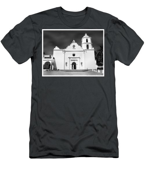 Old Mission San Luis Rey De Francia Men's T-Shirt (Athletic Fit)