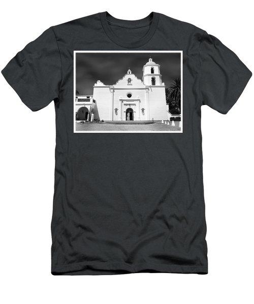 Old Mission San Luis Rey De Francia Men's T-Shirt (Athletic Fit)
