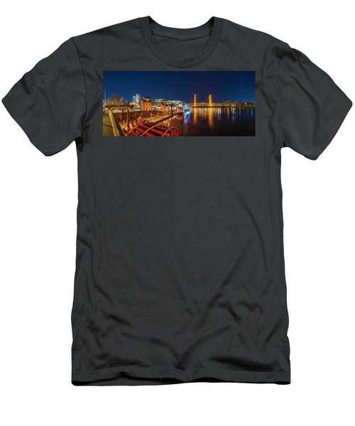 Old Sacramento Panorama Men's T-Shirt (Athletic Fit)