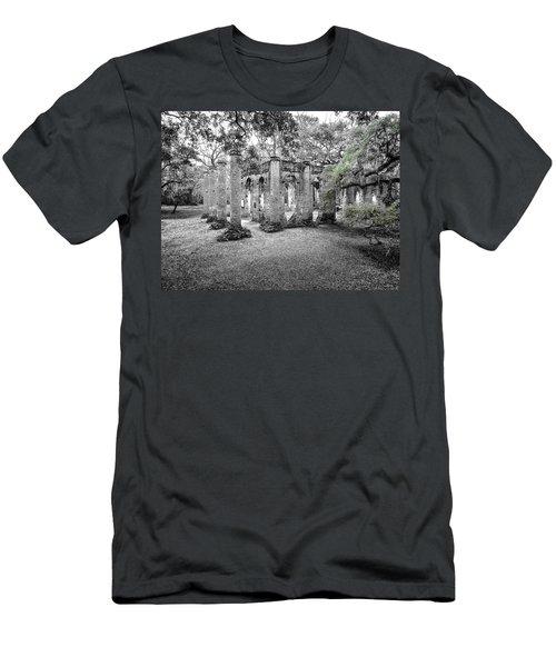 Old Sheldon Ruins Men's T-Shirt (Athletic Fit)