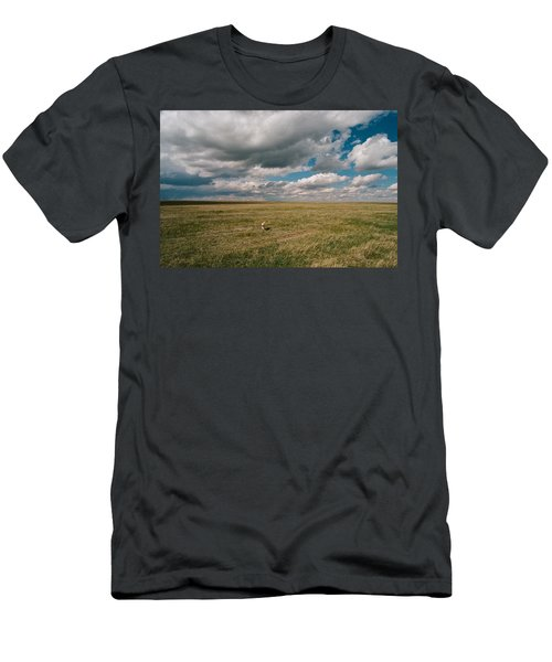 One Happy Dog Men's T-Shirt (Athletic Fit)