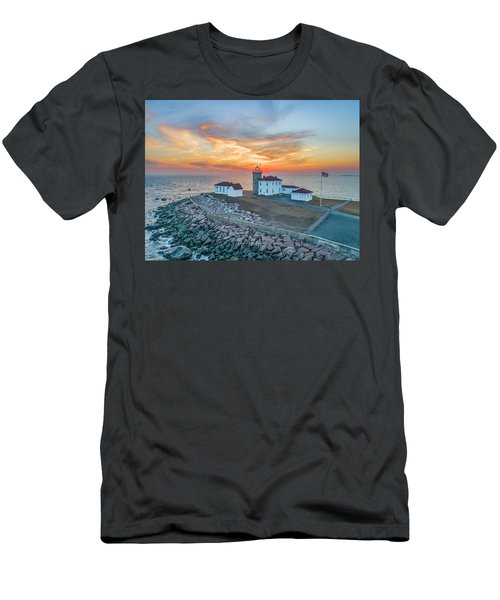 Orange Dreamsicle At Watch Hill Men's T-Shirt (Athletic Fit)