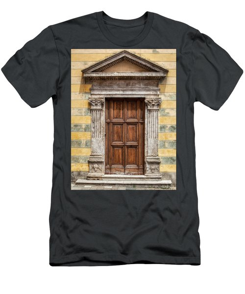 Ornate Door Of Tuscany Men's T-Shirt (Athletic Fit)