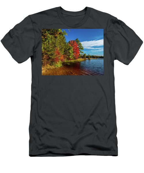 Oswego Lake Pinelands Men's T-Shirt (Athletic Fit)