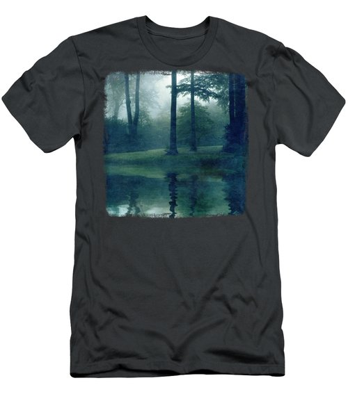 Out Of Reach - Forest Reflection Men's T-Shirt (Athletic Fit)