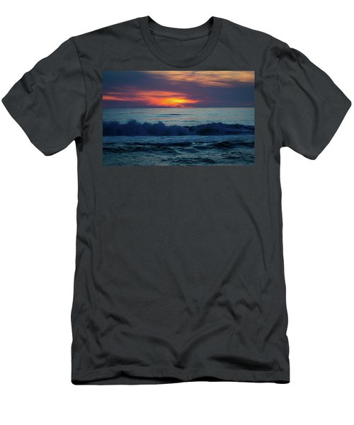Outer Banks Sunrise Men's T-Shirt (Athletic Fit)