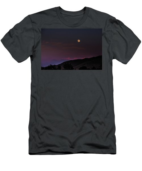 Men's T-Shirt (Athletic Fit) featuring the photograph Over The Border by Alex Lapidus