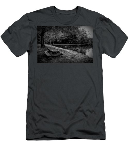 Overlooking The Sugar River Men's T-Shirt (Athletic Fit)