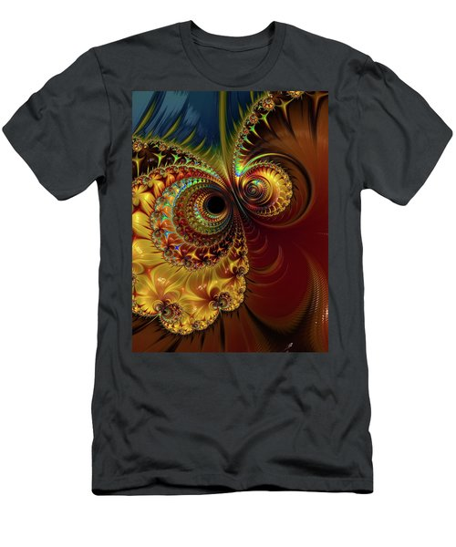 Owl Eyes Men's T-Shirt (Athletic Fit)