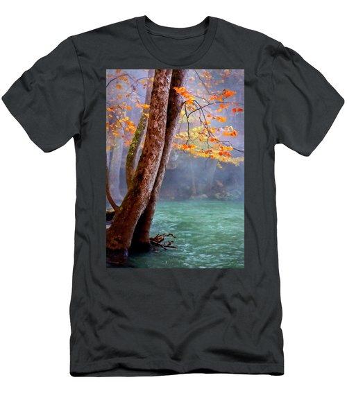 Ozark Autumn  Men's T-Shirt (Athletic Fit)