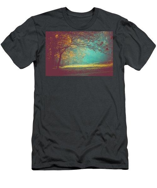 Painted Sunrise Men's T-Shirt (Athletic Fit)