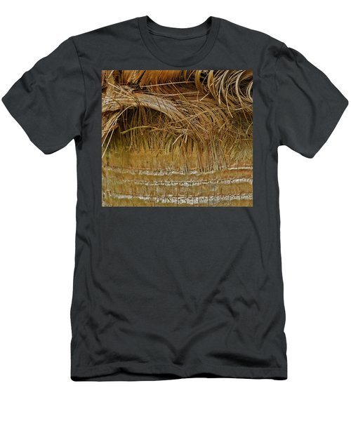 Palm Tree Straw 2 Men's T-Shirt (Athletic Fit)