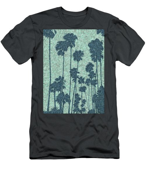 Palms Over Palisades No. 2 Men's T-Shirt (Athletic Fit)