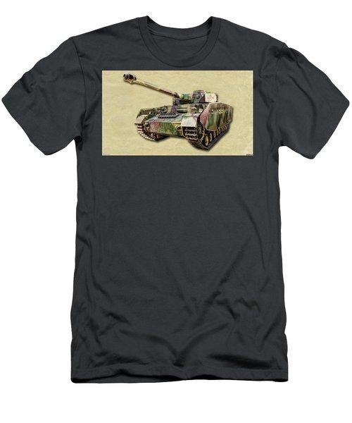 Panzer Iv Canvas Men's T-Shirt (Athletic Fit)