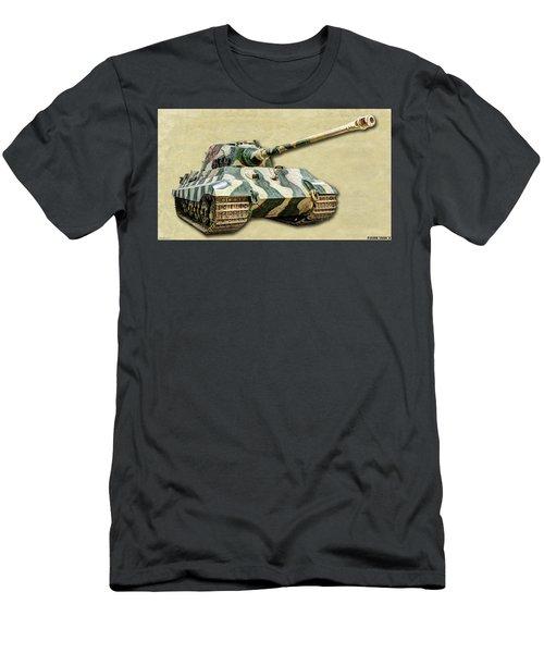 Panzer Vi Tiger II Canvas Men's T-Shirt (Athletic Fit)