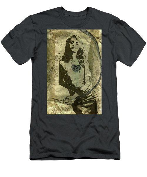 Paper Doll Men's T-Shirt (Athletic Fit)