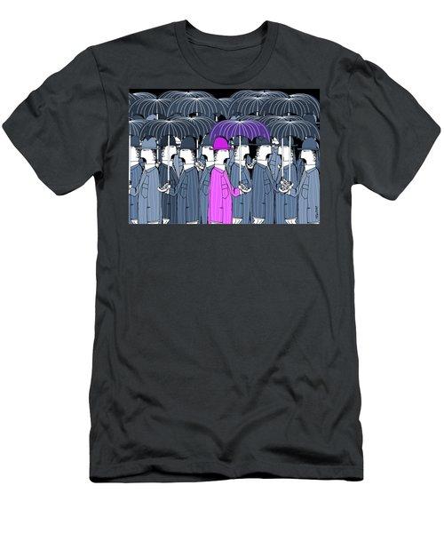 Parasol Party Men's T-Shirt (Athletic Fit)