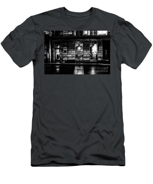 Men's T-Shirt (Athletic Fit) featuring the photograph Paris At Night - Rue Bonaparte 2 by M G Whittingham
